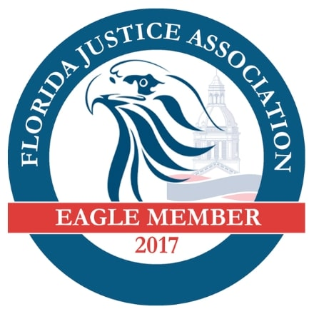 Badge - Florida Justice Association Eagle Member 2017