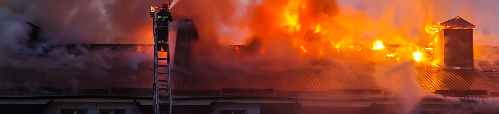 Fire In Apartments, Fireman Extinguishes Fire, Fires in Apartments / Hotels Lawsuit Claims Lawyer