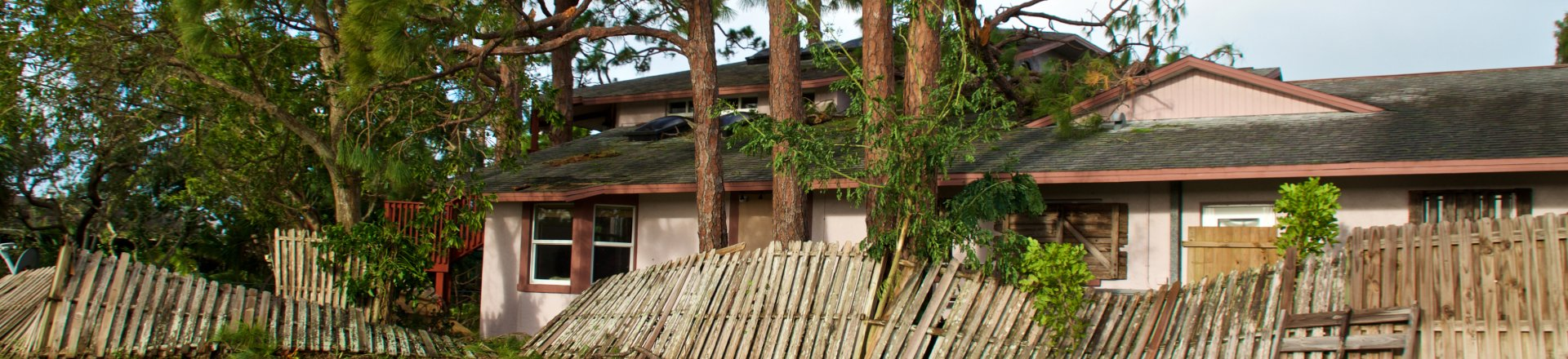Tree has fallen on house, Hurricane Irma, Storm/Property Damage Insurance Claims Lawyer Serving Key West
