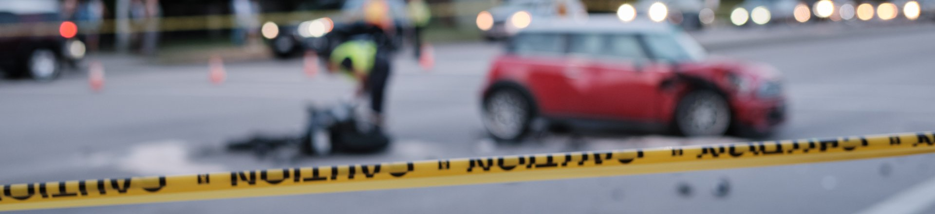 Accident Of Motorcycle And Car At Crossroad, Key West Motorcycle Accident Lawyer