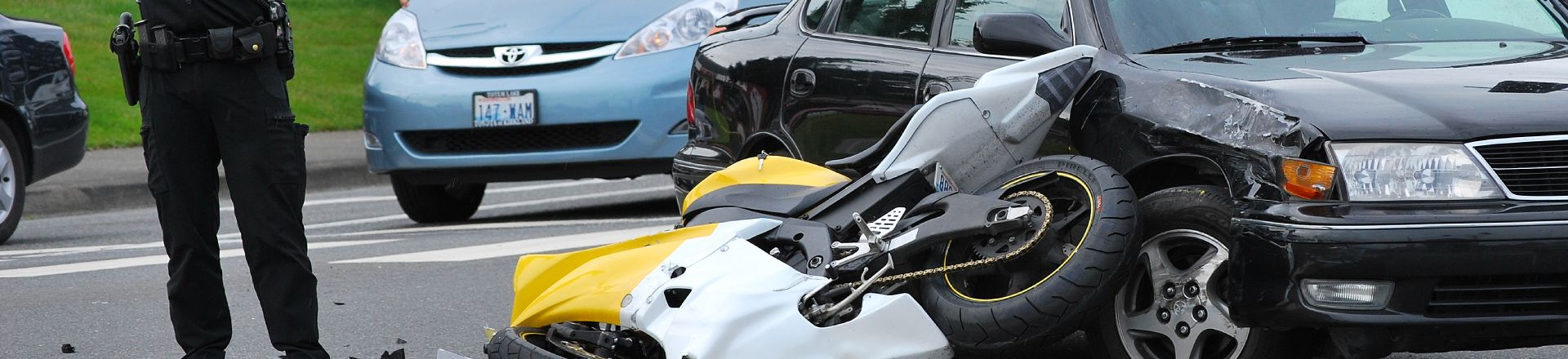 Car Runs Into Motorcycle. Ocala Motorcycle Accident Lawyer