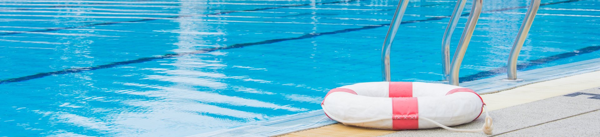 Ring Buoy For Rescue Victim Drowning, Swimming Pool Accidents Lawyer